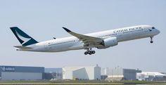 Cathay Pacific recibió su primer Airbus A350-900