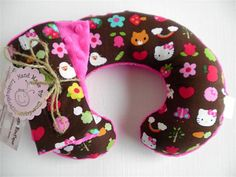 Hello Kitty Foxes and Flowers Neck Travel by Loubugsboutique, $11.50