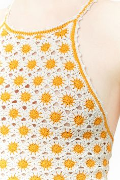 Crochet Tie-Back Cami Crochet Crop Top, Crochet Bikini, Crochet Woman, Knit Crochet, Crochet Clothes, Diy Clothes, Bralette Pattern, Crop Top Pattern, Sewing Patterns