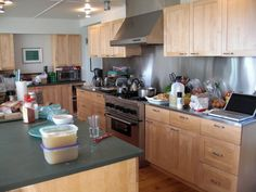 White Ikea Kitchen Gray Countertops And Kitchens With White ...