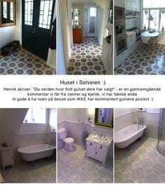 Historiske fliser Alcove, Floors, Tiles, Bathtub, Bathroom, Tile, Home Tiles, Room Tiles, Standing Bath
