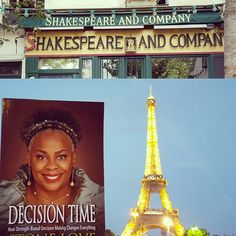 """http://www.decisiontimestonelove.com/decision-time-in-paris/ """"The best way to see Paris is on your book tour""""  Stone Love, making my  presence felt."""