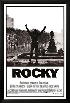 Rocky, il film. Con le braccia alzate. Stampe su AllPosters.it