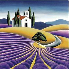 New Zealand ~ Diana Adams ~ French Lavender Fields