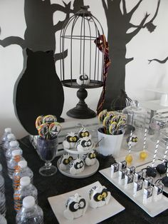 HP dessert table
