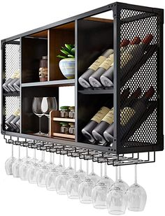 Steel Furniture, Home Decor Furniture, Furniture Design, Mini Bar At Home, Bars For Home, Home Bar Areas, Deco Studio, Wine Cabinets, Industrial House