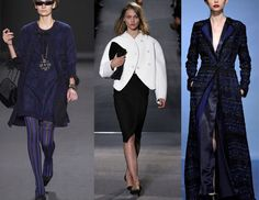 """The Top Trends from the Fall 2013 Runways: Theme: Loco for Coco    Several designers seemed to have Coco on the mind for FW 2013; Chanel references, proportions, and rich fabrics popped up everywhere lending a dash of """"lady"""" to collections."""