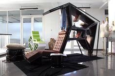 hachim houssaine belfkih creates cell hybrid seating/storage element