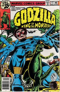 Godzilla 17 December 1978 Issue Marvel Comics by ViewObscura