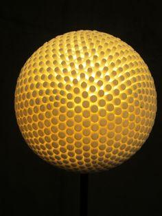 3D printed lamp exhibited by Purmundus at Euromold 2013 #3dPrintedLightning