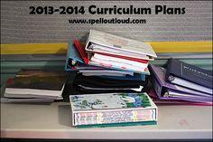 Homeschool Curriculum high school - toddlers 2013-2014