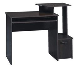Best Small Computer Desks Review (March, 2019) - A Complete Guide Home Office Desks, Home Office Furniture, Inexpensive Furniture, Cherry Finish, Furniture Disposal, Computer Desks, Contemporary Furniture, Cinnamon, Corner Desk