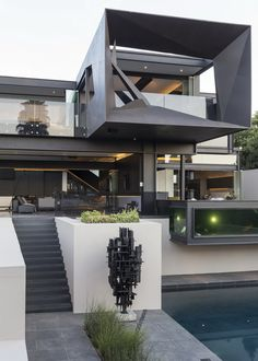 Kloof Road House | Facade | Steel | Nico van der Meulen Architects