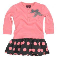 Z8 baby - Jurk Fiona peach pink