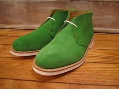 more green shoes...can't help it. by marc mcnairy...love.