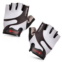 Maso Cycling Gloves with Shock-absorbing Foam Pad Breathable Half Finger Bicycle Riding Gloves Bike Gloves B-001 (Grey, Medium) - http://cyclingclothingforwomen.shopping-craze.com/index.php/2016/05/02/maso-cycling-gloves-with-shock-absorbing-foam-pad-breathable-half-finger-bicycle-riding-gloves-bike-gloves-b-001-grey-medium/