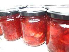 Recette - Confiture de fraise au Basilic   750g