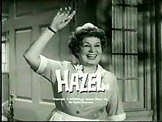 Hazel is an American sitcom about a fictional live-in maid named Hazel Burke (Shirley Booth) and her employers, the Baxters. The five-season, 154-episode series aired in primetime from September 28, 1961, until April 11, 1966.