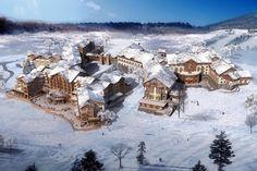 Ski resort in China - Luxury Ski at #Changbaishan resort - http://richieast.com/skiing-style-china-changbaishan-international-resort/