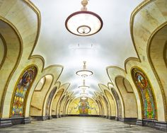 These Photographs Capture the Opulent Beauty of Empty Moscow Metro Stations