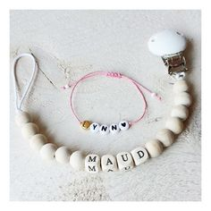 ♡ LYNN ♡ MAUD ♡ kraamcadeautjes #BYPAT #naamkoord #knuffelketting #knuffelkoord #speenkoordmetnaam #speenketting #naamtouwtjes #naamcadeau #naamarmband #kraamcadeau #kraamkado #zwanger #baby #lynn #maud #lente2016
