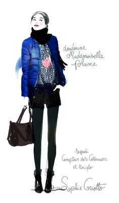 Sophie Griotto Illustration - Illustration pour Caudalie-avril 2014