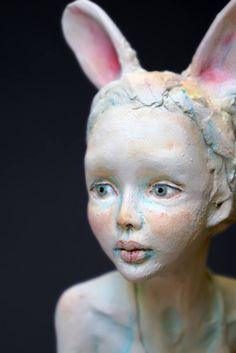 ceramic sculpture by Victoria Rose Martin