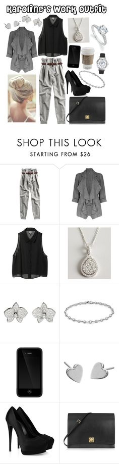 """Karoline's work outfit"" by karolinebhn ❤ liked on Polyvore featuring 120% Lino, Monki, Armadani, Cartier, Elsa Peretti, Bulova, Incase, Jennifer Meyer Jewelry, Giuseppe Zanotti and Valentino"
