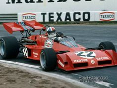 1973 Chris Amon, Martini Racing Team, Tecno PA123-6 Tecno