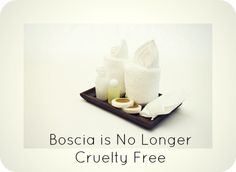 """The brand Boscia has changed their cruelty free status. Read more to find out what their updated """"required by law"""" stance means."""