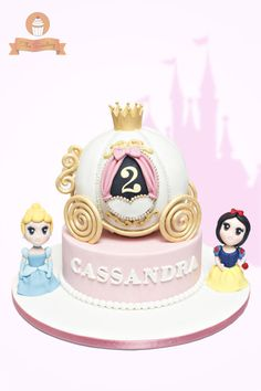 Princess Carriage Cake - Cake by The Sweetery - by Diana
