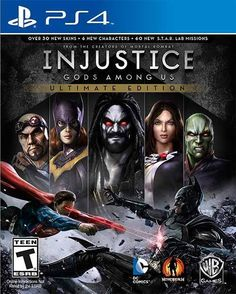 Ps4 Injustice Gods Among Us Ultimate Edition Sony PlayStation 4 NTSC PS4 Games #Ps4 #Injustice #Gods #Among #Sony #Ntsc #Games #Gamer #Gaming