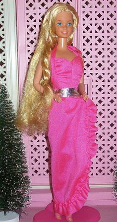 Barbie - Twirly Curls Barbie, 1982. Best barbie ever
