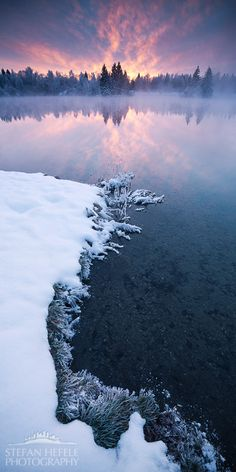Ice on Fire, Bavaria, Germany