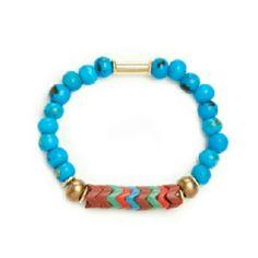 Vanessa Mooney Fawn Turquoise. Shop BlackRose.kitsylane.com for your accessory needs.
