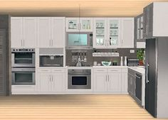 IKEA FAKTUM kitchen addons - slaved