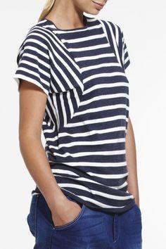 Sun-sational Tee SS2015 NINETEEN//46 NZ$189 #knitwear #fullyfashioned #summerknitwear #summer #cotton