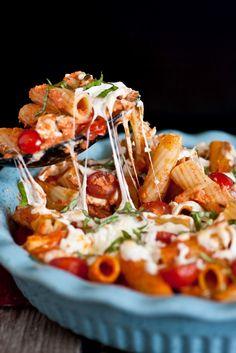 Amazing pasta dish.