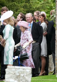 From Berkshire to Buckingham : Catherine & William Attend Eton Friend  Alexander Vaulkhard's Wedding in Batcombe