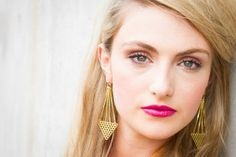 Jane Gowans Chimera avian earrings: : Scottish Fashion / scottishfashion.co.uk