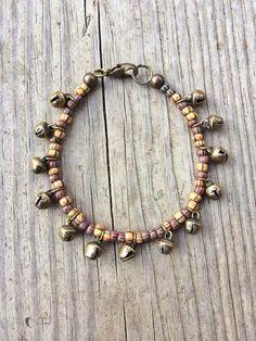 Boho jewelry, gypsy jewelry, unique handmade jewelry, beaded bracelet