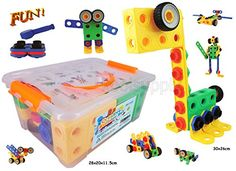 Creative Builder Set - Educational Gifts, Toys for Boys a…