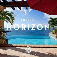 St. John's endless summer is perfect with our endless horizons at Coyaba Villa!