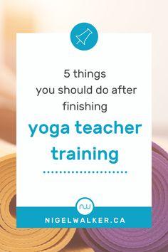 Online Yoga Teacher Training, Yoga Teacher Training Course, Yoga Lessons, Yoga Philosophy, Teaching Career, Self Massage, Teacher Hacks, How To Better Yourself, 5 Things