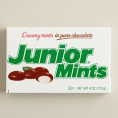One of my favorite discoveries at WorldMarket.com: Tootsie Junior Mints