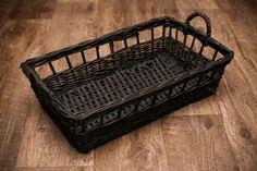 RTS Newborn Posing Basket 19X11X5 Black by basketfillersbyjamie, $33.00