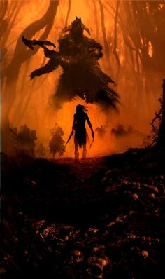 Morgoth and Sauron.