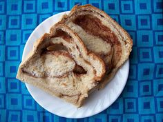 Cinnamon Swirl Bread from Money Saving Mom: In my bread machine right now!