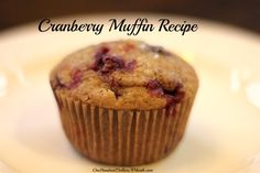 Cranberry Muffins. If you still have a bunch of cranberries sitting in your freezer from Thanksgiving, and you don't know what to do with them, these cranberry muffins are pretty freakin' awesome. So awesome the HH ate 3 of them in a row while standing over the kitchen...