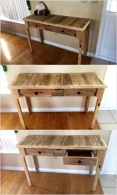 pallet-entry-way-table